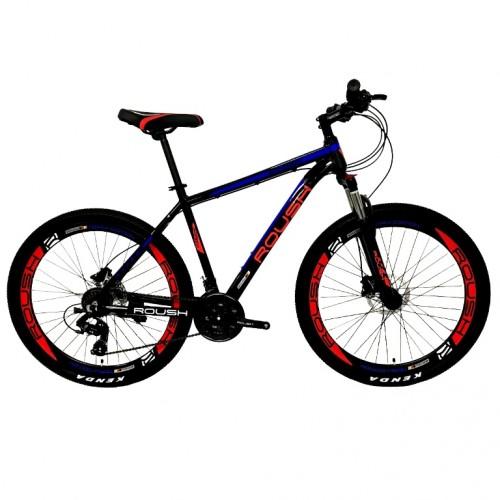 Велосипед 27,5 Roush 27HD210 AL PRO-2 красный матовый