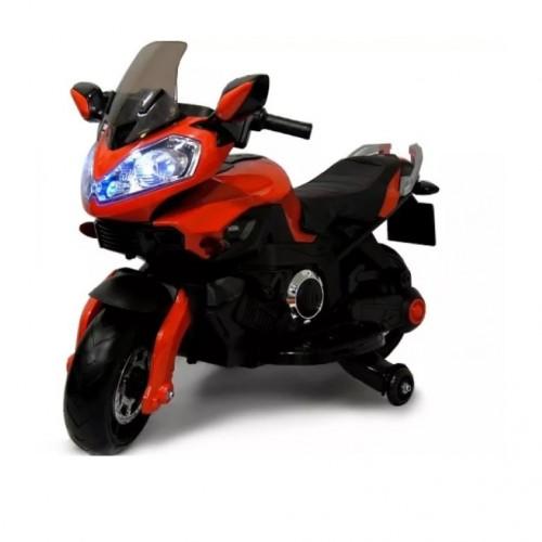 Электромотоцикл детский 42329 красный