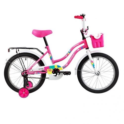 Велосипед 18 Novatrack Tetris.PN20 розовый нож/т