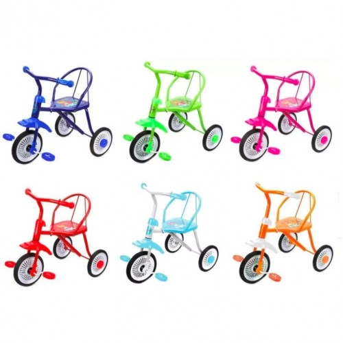 Велосипед 3-х кол. 641236  Друзья 4цвета (6)