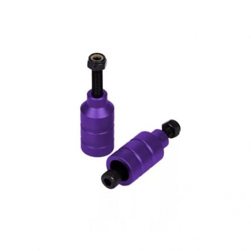 Пеги на самокат (две пегги и две оси) C1 фиол или серые