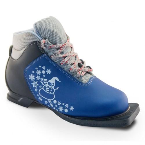 Ботинки лыжные  31р. 75мм Marax M 350 синий