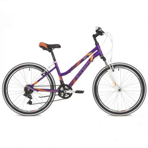 Велосипед 24  Stinger  AHV.LAGUNA14VT9 фиол.