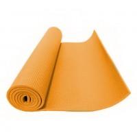 Коврик для фитнеса (йога) оранжевый 5мм