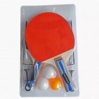 Теннис 635058  X-Match сетка+креп. набор