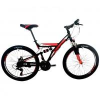 Велосипед 24 Roush 24V100-2 красный матовый