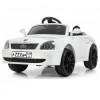 Детский электромобиль Lada белый