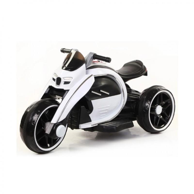 Электромотоцикл детский M010AA  50476 (Р) белый