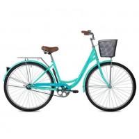 Велосипед 28 Foxx SHC.Lady VINTAGE.GN1 зел.+пер. корз