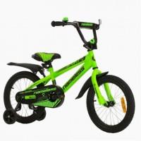 Велосипед 18 Nameless Sport, зеленый/черный