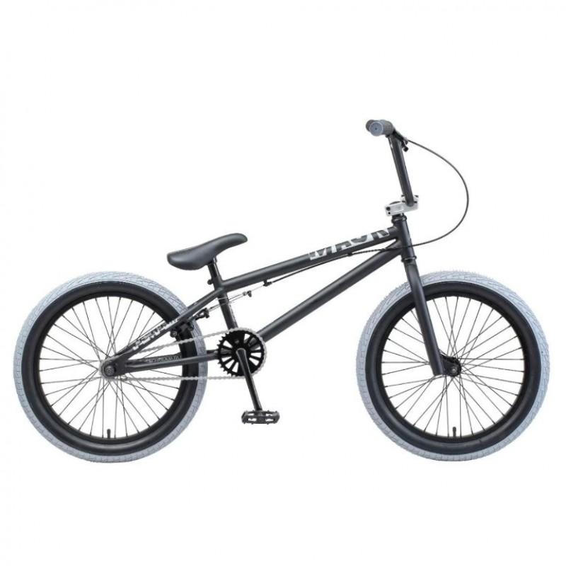 Велосипед трюкавой 20 TT Mack чёрный 2021 (АКЦИЯ!!!)