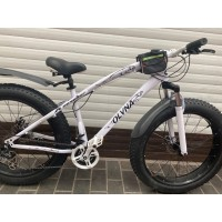 Велосипед 26  Fat bike OLVNA белый