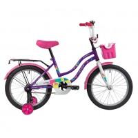 Велосипед 18 Novatrack Tetris.VL20  фиолетовый