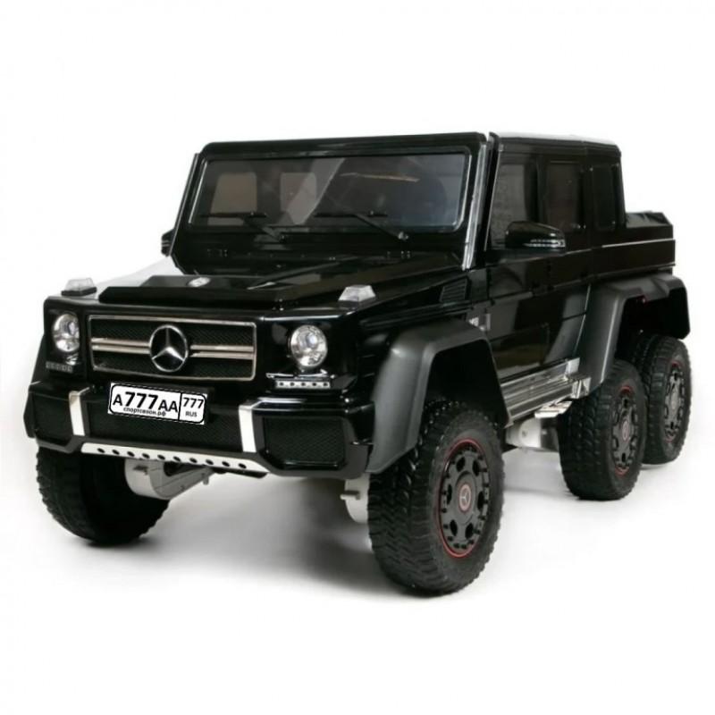 Детский электромобиль Mercedes-Benz G63 AMG 47171 Шестиколесный черный