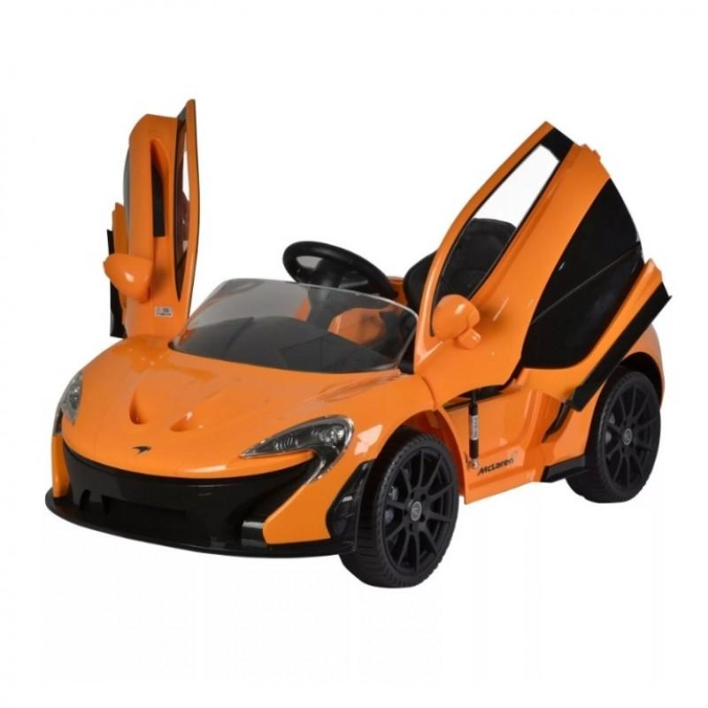 Электромобиль детский Mclaren Z672  50510 (Р) оранжевый
