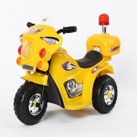 Электромотоцикл детский TR 998 желтый  6v.4Ah  80*37*53