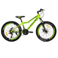 Велосипед 24 Roush 24MD240-3 зелёный матовый