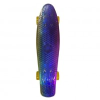 Скейтборд  Explore Ecoline NEO/6 пенниборд роз/син/желт 3-х цветн