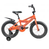Велосипед 18 Fat bike TT BULLY  оранжевый (P)