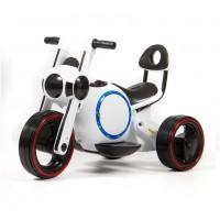 Электромотоцикл детский Y-MAXI 45568 (Р) белый, глянцевый