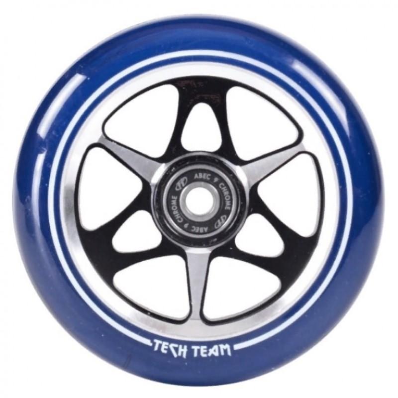 Колесо  110мм X-Treme  KL, transparent blue