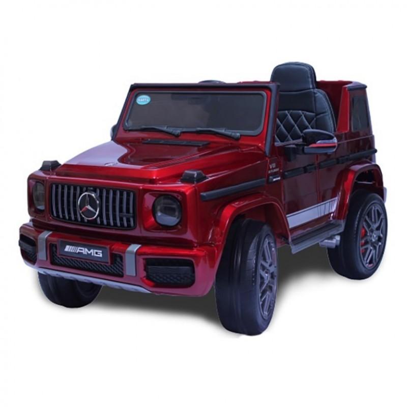 Электромобиль детский Mercedes-Benz 51626 (Р) красный глянец