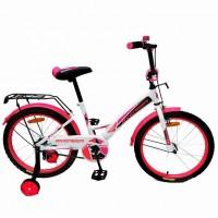 Велосипед 18  AVENGER NEW STAR, белый/розовый
