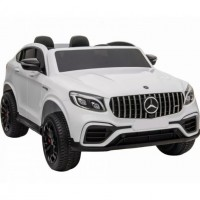 Электромобиль детский Mercedes-AMG GLC 63 S Coupe XMX 608 49926 (Р) полный привод, белый