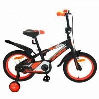 Велосипед 12  Nameless SPORT, чёрный/оранжевый