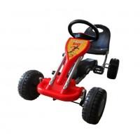 Педальная машина  ST00003-GN зеленый пласт. колеса ,89*52*51см