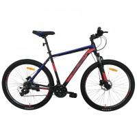 Горный велосипед Roush 29HD210 AL PRO-4 синий / красный (ГИДРАВЛИКА АЛЮМИНИЙ)