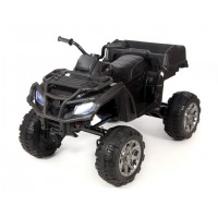 Электроквадроцикл детский Grizzly Next 45400 (Р) черный c зеленой решеткой