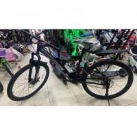 Велосипед 26 Avenger F263D  чёрный/серебристый