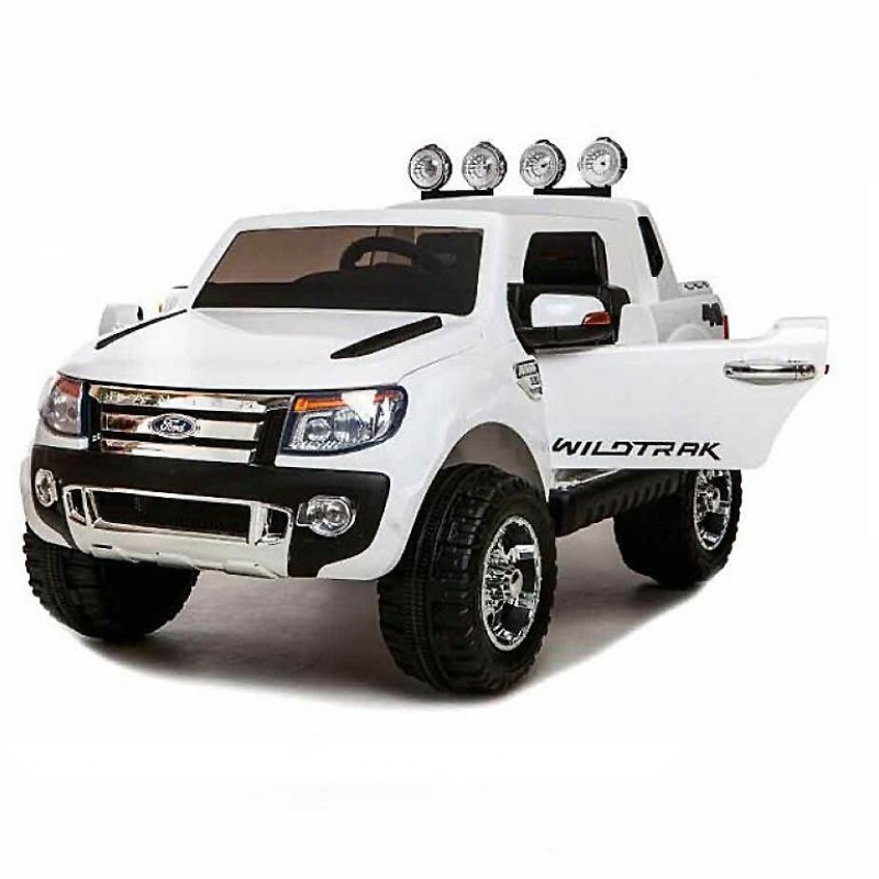 Электромобиль детский Ford Ranger F650 45433 (Р)   (Лицензионная модель) белый