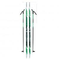 Лыжный комплект NNN креп STC 200см (4)+пал+кр степ