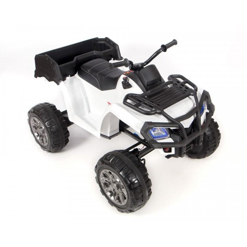 Электроквадроцикл детский Grizzly Next 45398 (Р) белый