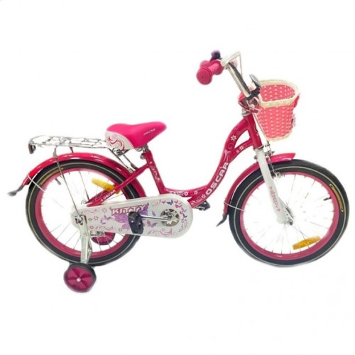 Велосипед 16 OSCAR KITTY розовый/белый