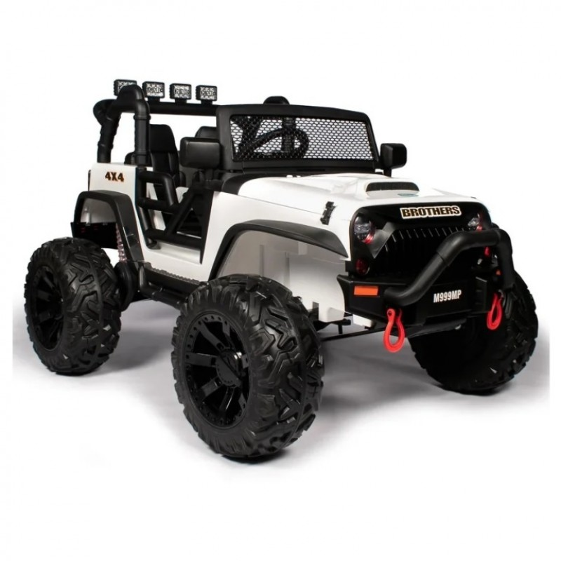 Электромобиль детский Jeep Wrangler M999MP  51697 (P) , белый