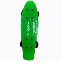 Скейтборд 635999  пластик, колеса ПВХ , крепления пластик, 5 цветов