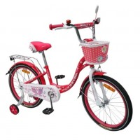Велосипед 20 OSCAR KITTY розовый/белый  АКЦИЯ!!!