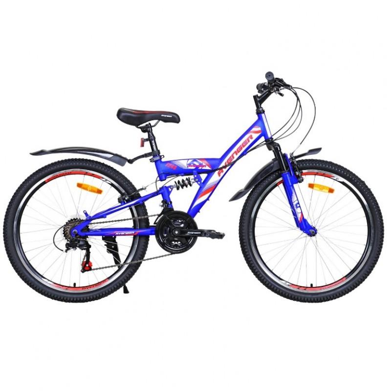 Велосипед 24 Avenger F243, синий/красный , 16