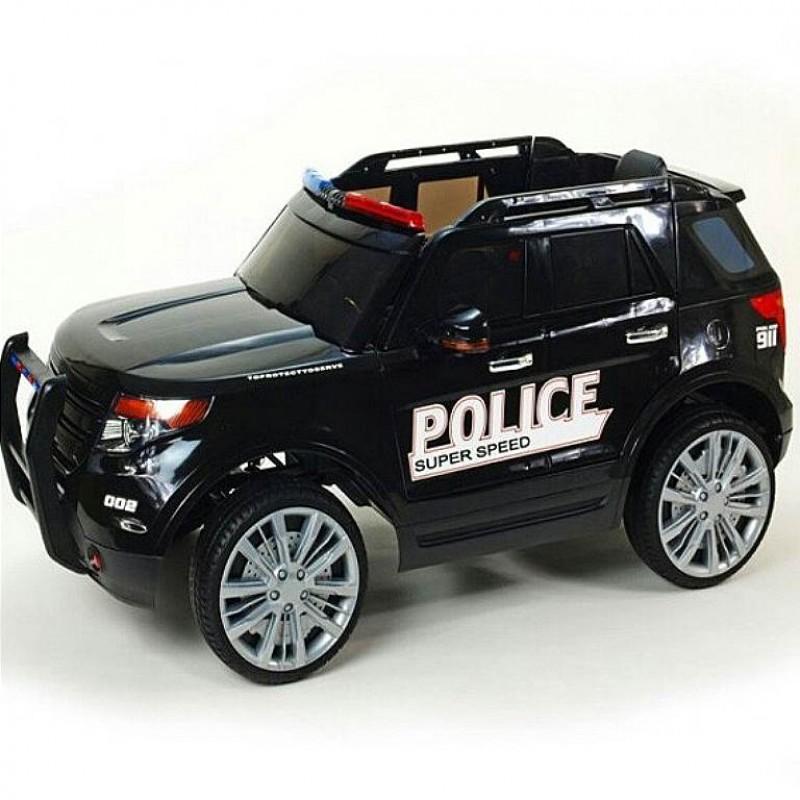 Электромобиль детский Ford ПОЛИЦИЯ 45447 (Р) черный