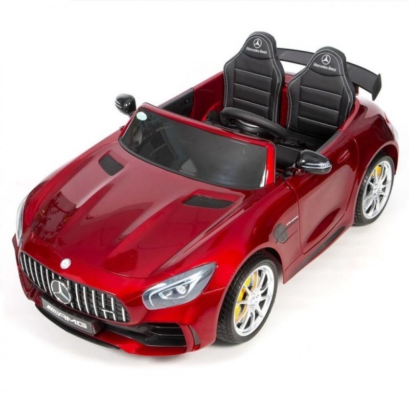 Электромобиль детский Mercedes-Benz AMG GT R 45495 (Р) двухместный (Лицензионная модель)  красный глянец