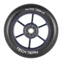 Колесо 100мм X-Treme  для самоката,форма 6RT фиолетовое