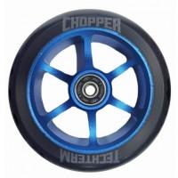 Колесо  120мм X-Treme  для самоката CHOPPER, форма 6ST , blue 120/24мм