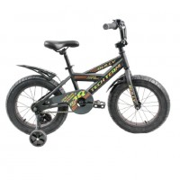 Велосипед 18 Fat bike TT BULLY  Black (P)