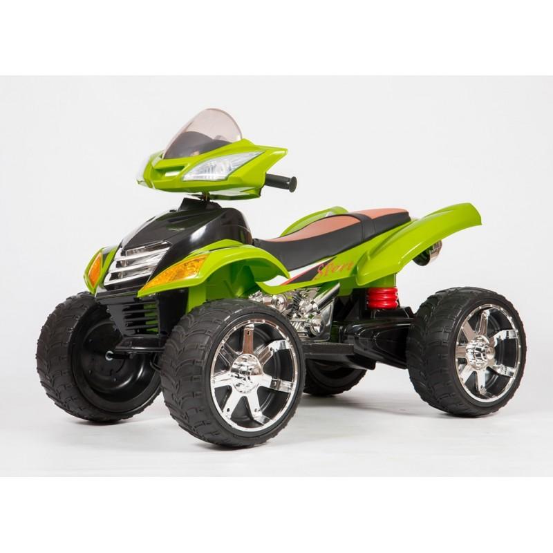 Электроквадроцикл детский Quad Pro 45394 (Р) зеленый