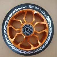 Колесо 110мм Duker 303 для самоката ,orange