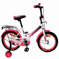 Велосипед 16  AVENGER NEW STAR,  белый/розовый