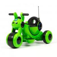 Электромотоцикл детский Y-MAXI YM77  50492 (Р) зелёный, глянцевый